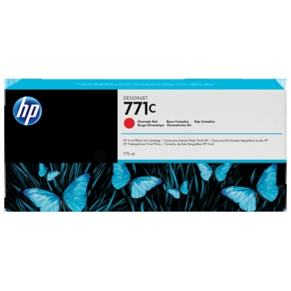 HP B6Y08A (771C) Ink cartridge red, 775ml