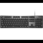 Logitech K845 keyboard USB Aluminum, Black