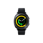 "Samsung Gear Sport 1.2"" SAMOLED GPS (satellite) Black smartwatch"