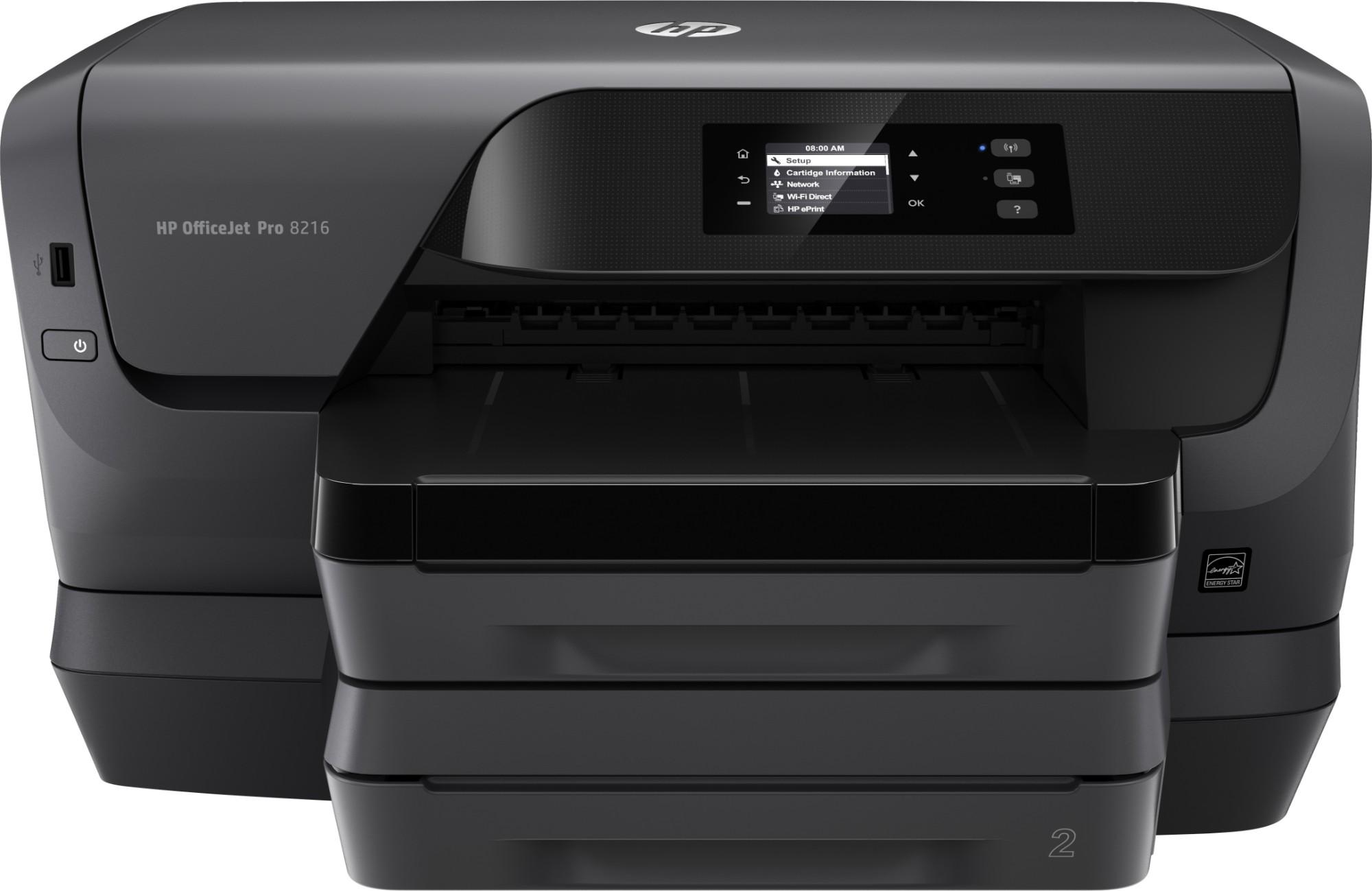 HP Officejet Pro 8218 Tintenstrahldrucker Farbe 2400 x 1200 DPI A4 Wi-Fi