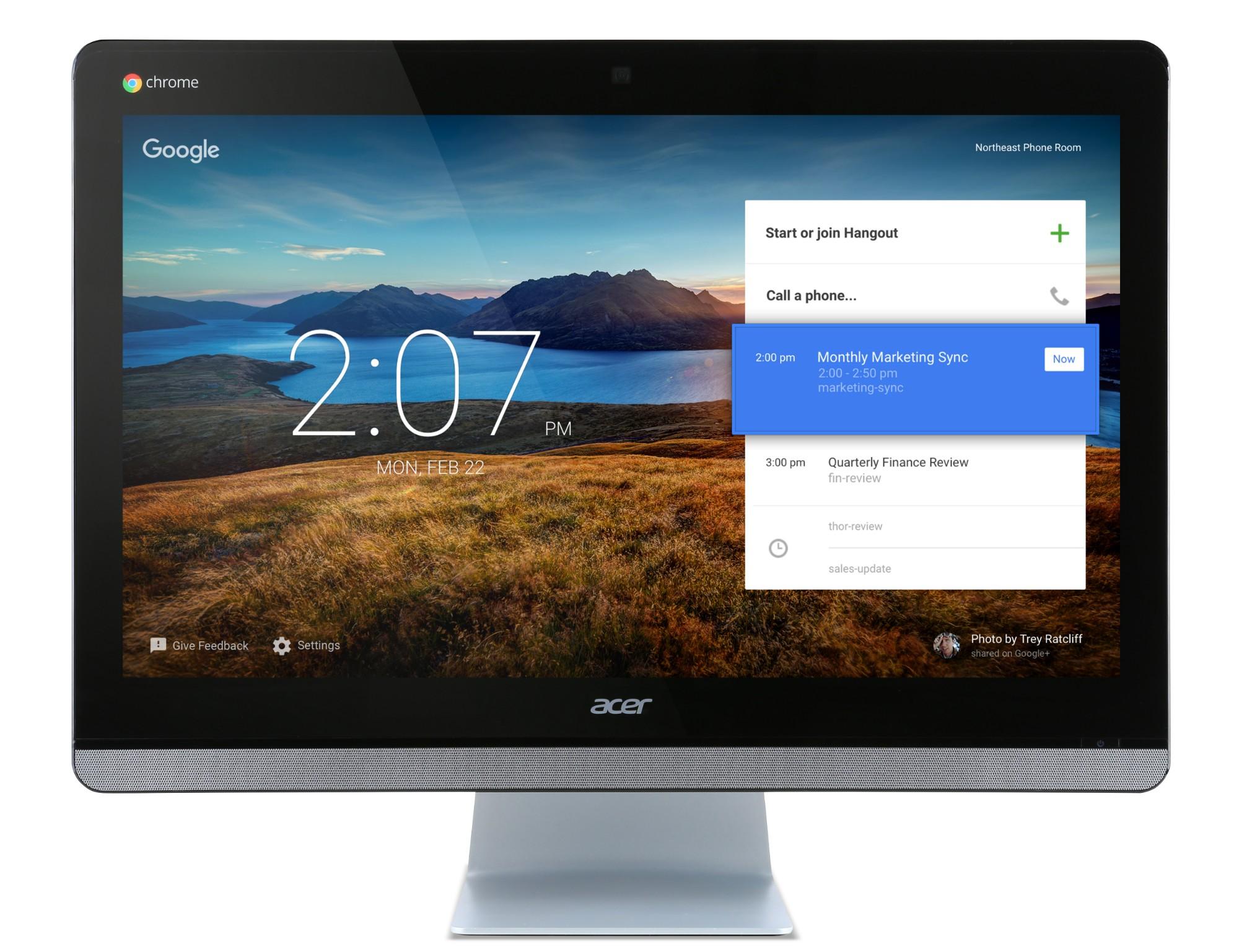 "Acer Chromebase CA24I_Wtb3215U 1.7GHz 3215U 23.8"" 1920 x 1080pixels Touchscreen Black,Silver"