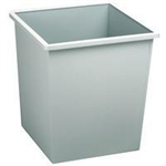 Avery WASTEPAPER BIN SQUARE GREY 631
