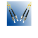 Microconnect ST/PC-ST/PC, 1m, 9/125 1m ST ST Yellow fiber optic cable