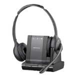 Plantronics Savi W720 Binaural Head-band Black