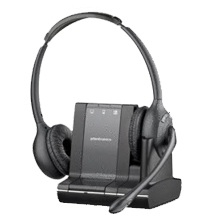 Plantronics Savi W720 Binaural Head-band Black headset