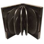 Target 12WAYDVDCASE DVD case 12 discs Black