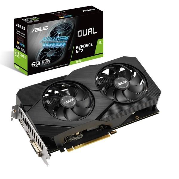 ASUS Dual -GTX1660-O6G EVO GeForce GTX 1660 6 GB GDDR5
