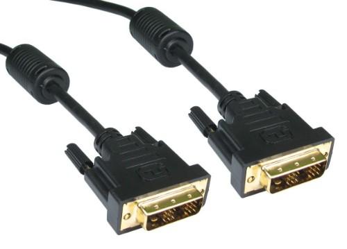 Cables Direct CDL-DV06-3M DVI cable DVI-D Black