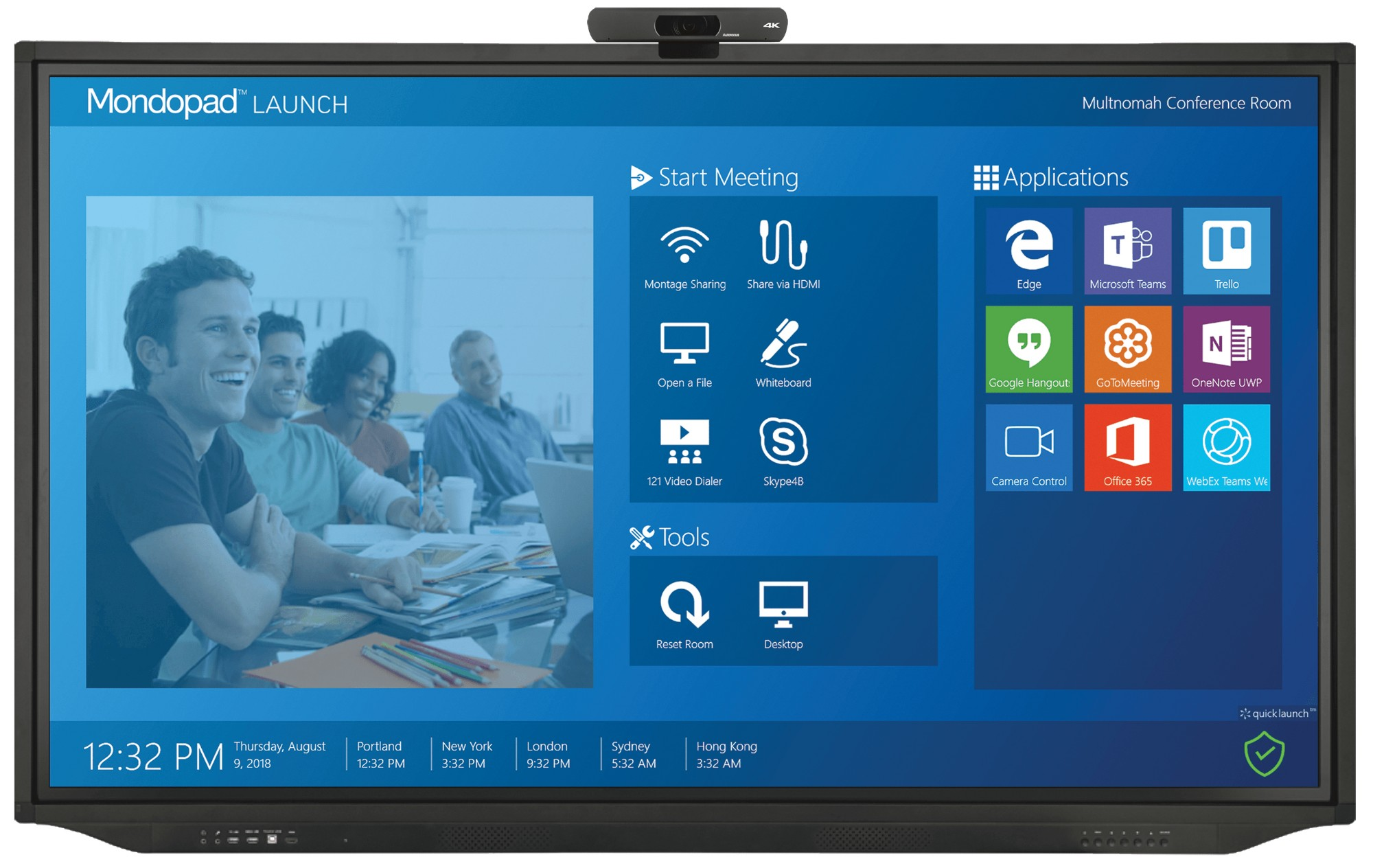 Mondopad Launch  55in INF55ML01 - 4K UHD touch - i5 7200U - 8GB Ram - 256GB SSD - Win10 Pro / Android (v5.0)