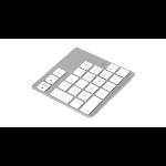 LMP 14300 numeric keypad Bluetooth Notebook / PC Weiß