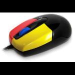 Accuratus MOU-JUNIOR-BLK USB Optical 800DPI Right-hand mice