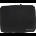 """Duragard DG-LSN006 12.1"""" Sleeve case Black notebook case"""