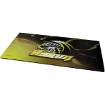 Akasa AK-MPD-01YL mouse pad Black, Yellow