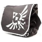 Nintendo Legend of Zelda Royal Crest Logo Messenger Bag, Black/White (MB00GTNTN)