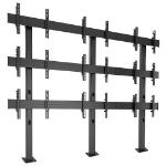 """Chief Fusion 3 x 3 116.8 cm (46"""") Fixed flat panel floor stand Black"""