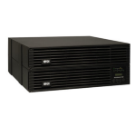 Tripp Lite SmartOnline 200-240V 6kVA 5.4kW On-Line Double-Conversion UPS, Extended run, SNMP, Webcard, 4U Rack/Tower, USB, DB9 Serial, Hardwire
