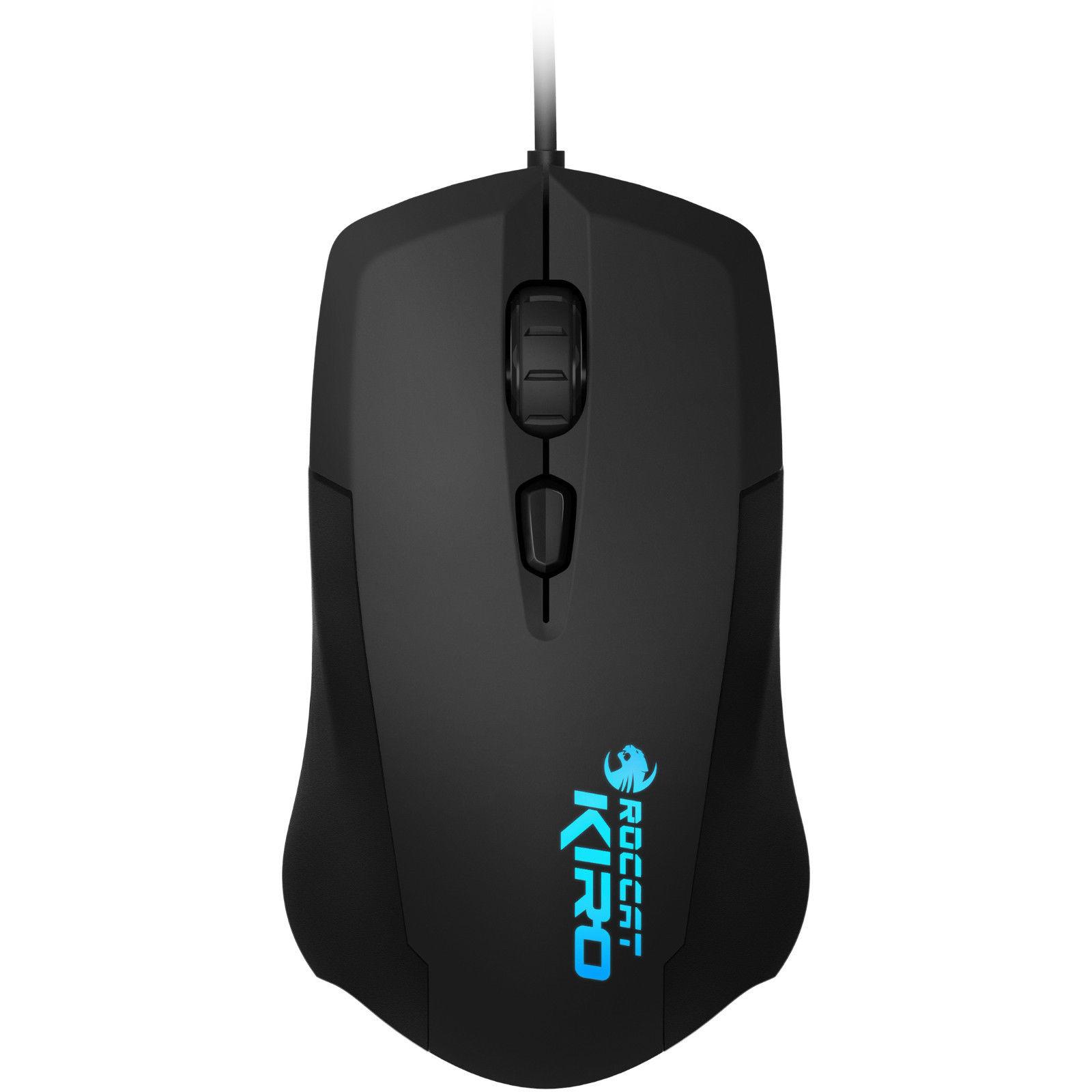 Pc Parts Component Store Roccat Kiro Usb Optical 4000dpi Mouse Gaming Razer Taipan Ambidextrous Black Mice