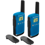 Motorola TALKABOUT T42 two-way radio 16 channels Black, Blue