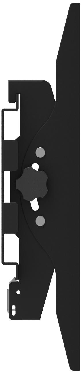 "Vision VFM-W12X6T signage display mount 2.18 m (86"") Black"
