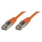 Microconnect Rj-45/Rj-45 Cat6 0.5m 0.5m Cat6 S/UTP (STP) Orange networking cable