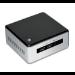 Intel NUC5i5MYHE 2.3GHz i5-5300U BGA1168 UCFF Black,Silver