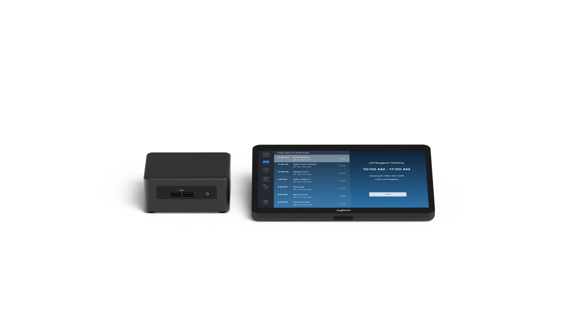 Logitech Tap Base Bundle – Zoom video conferencing system Multipoint Control Unit (MCU)