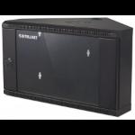 Intellinet 714624 rack 6U Wall mounted rack Black