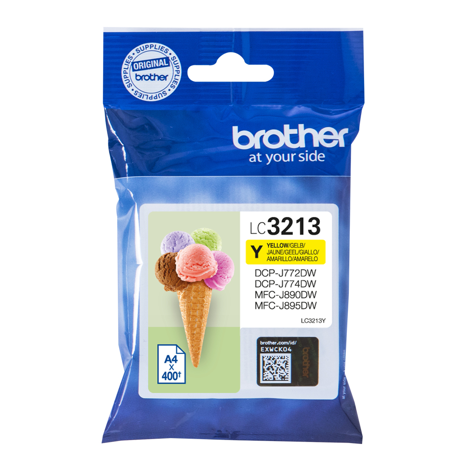 Brother LC-3213Y cartucho de tinta Original Amarillo
