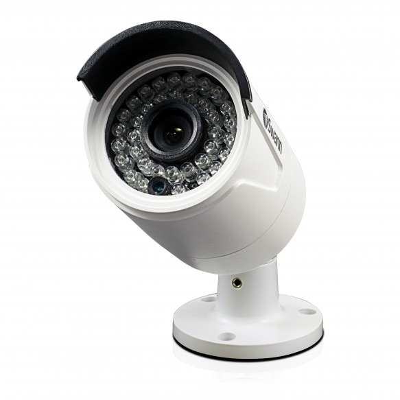 Swann SWNHD-818CAM-UK 4 MP Super HD Day/Night Security Camera with 100 ft/30 m Night Vision - White