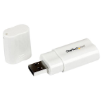 StarTech.com USB to Stereo Audio Adapter Converter ICUSBAUDIO