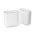 ASUS ZenWiFi XD6 AX5400 Dual-band (2.4 GHz / 5 GHz) Wi-Fi 6 (802.11ax) White 4 Internal