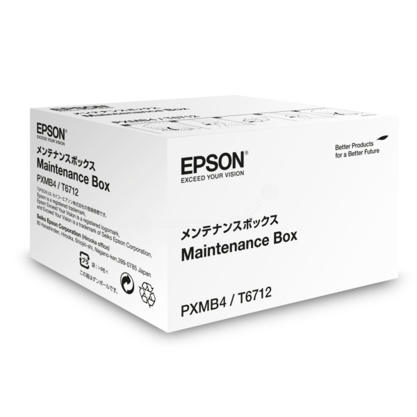 Epson C13T671200 (T6712) Ink waste box, 75K pages