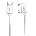 StarTech.com USB2ADC2ML 2m USB A Apple 30-p White mobile phone cable