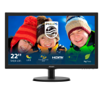 Philips V Line LCD monitor with SmartControl Lite 223V5LHSB/00