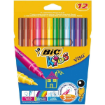 BIC Visa Fine Multicolour 12pc(s) felt pen