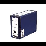 Fellowes Premium Transfer File 127mm Blue PK10