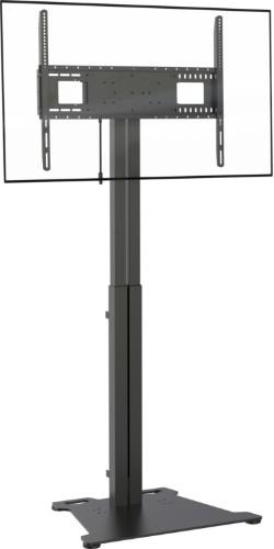 """Vision VFM-F30/FP flat panel floorstand 2.29 m (90"""") Portable flat panel floor stand Black"""
