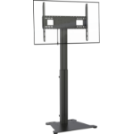 "Vision VFM-F30/FP flat panel floorstand 2.29 m (90"") Portable flat panel floor stand Black"