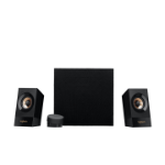 Logitech Z533 2.1channels 60W Black speaker set