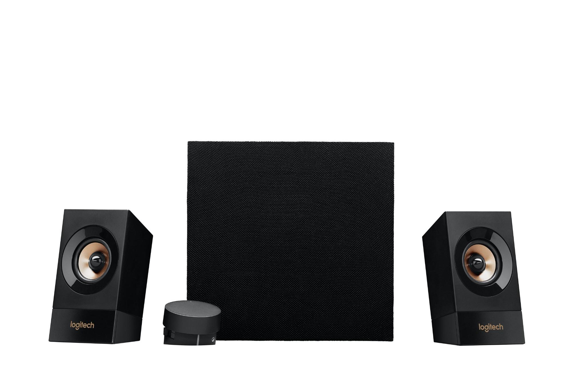 Logitech Z533 2.1channels 60W Black speaker set