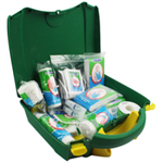 Wallace VEHICLE GREEN BOX FIRSTAIDKIT