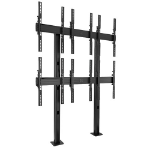 "Chief LBM3X2UP flat panel floorstand 116.8 cm (46"") Fixed flat panel floor stand Black"