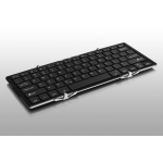 Aluratek ABLKO4F Bluetooth Black, Silver mobile device keyboard