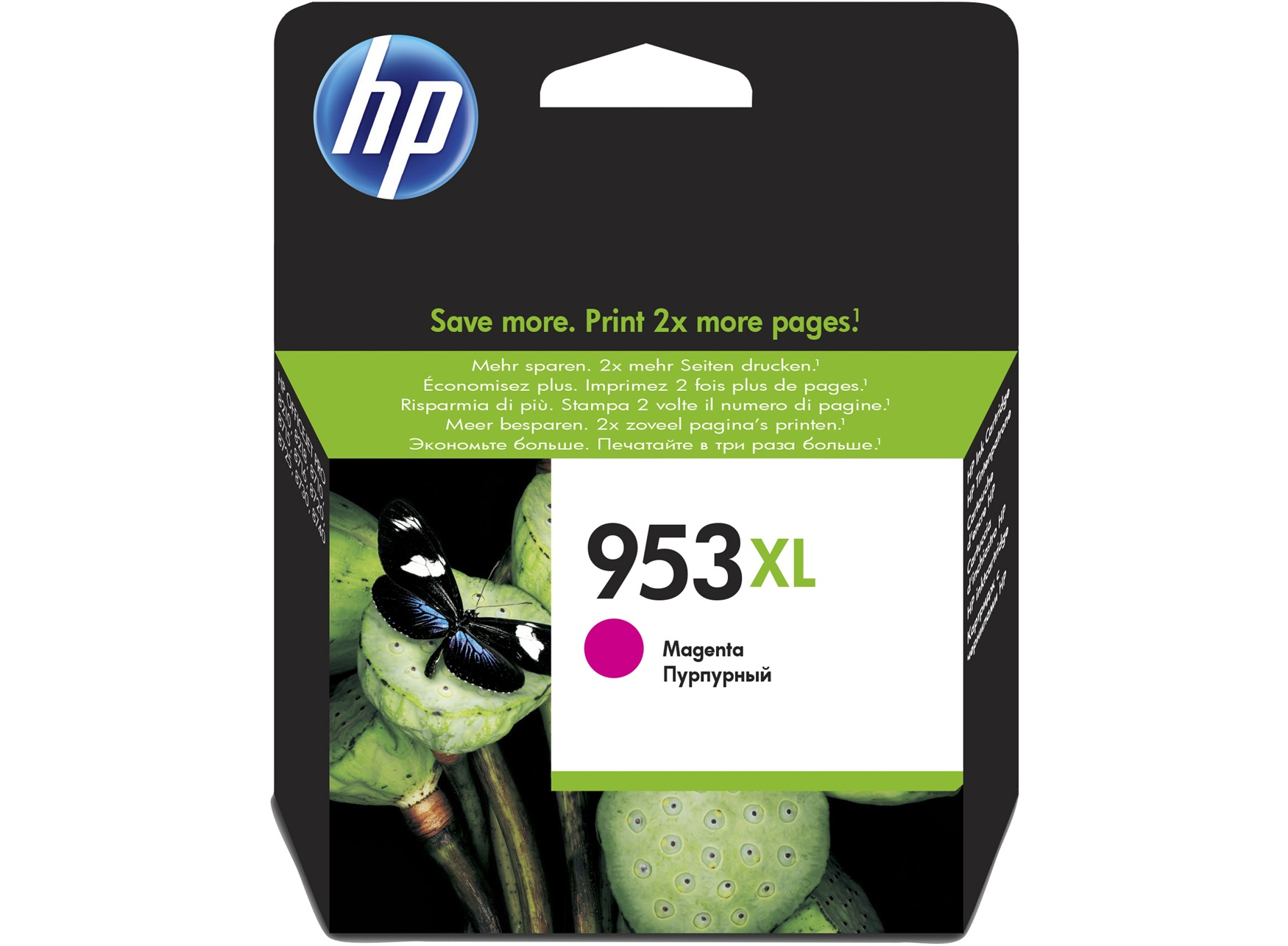 HP 953XL Magenta Original Ink Cartridge 20.5ml 1600pages Magenta ink cartridge