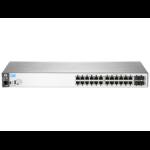 Hewlett Packard Enterprise Aruba 2530-24G Managed L2 Gigabit Ethernet (10/100/1000) Gray 1U