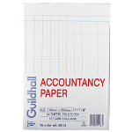 Guildhall Account Paper 298x203mm 16 Cash Column 24 Sheets 39/16Z