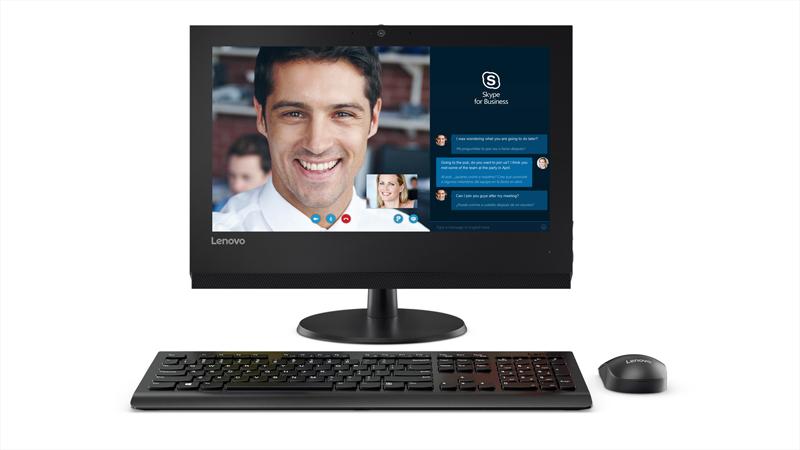 """Lenovo V310z 3GHz i5-7400 19.5"""" 1600 x 900pixels Black All-in-One PC"""