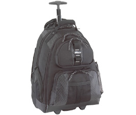 Sport Rolling - 15.6in Notebook Backpack Black
