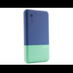 STM Grace PowerBank Lithium Polymer (LiPo) 5000mAh Blue power bank