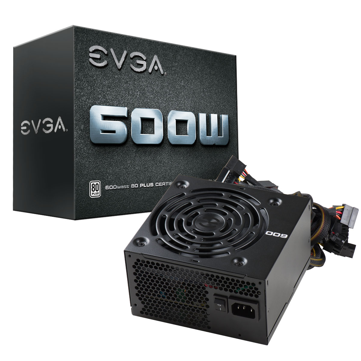 EVGA 600w WHITE 80+ PSU